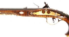 a- Marvin Kemper Kentucky Flintlock Pistol